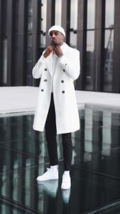 Double Breasted Overcoat Cashmere
