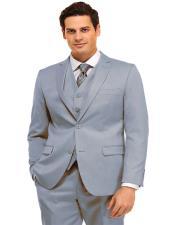 Suit Sky Blue  Light Blue  Power Blue Light Weight