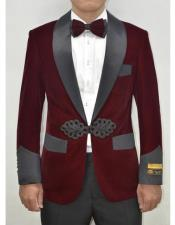 ~ Maroon ~ Wine Wedding Blazer ~ Sport Jacket + Matching