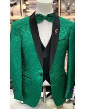 Prom Wedding Blazer Lime Green ~ Apple Green