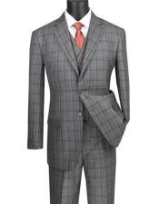 Big And Tall Plaid Color Mens Plus Size Mens Suits For Big