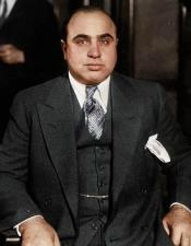 Mens Al Capone Suit + Vest - Double Breasted Style Al Capone