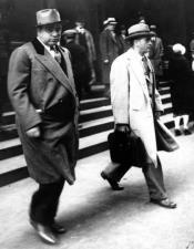 Mens Al Capone Overcoat