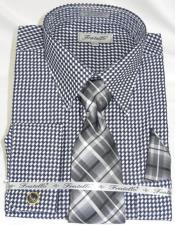 Colorful Mens Gingham Dress Shirt