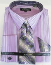 Lavender Colorful Mens Dress Shirt