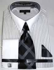 Stripe Colorful Mens Dress