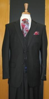 Attire - Funeral Outfit - Funeral Clothes Black classic fit Suit