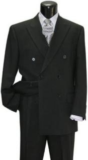 Attire - Funeral Outfit - Funeral Clothes Double breasted with 6