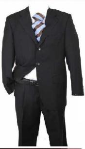 Attire - Funeral Outfit - Funeral Clothes Notch lapel posing center