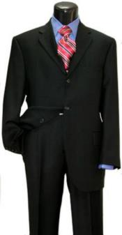 Attire - Funeral Outfit - Funeral Clothes Mens Black Suit for