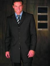 Attire - Funeral Outfit - Funeral Clothes Mens Charcoal Suit for