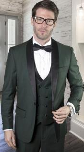 Shawl-Lapel-Gray-Suit
