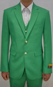 Mens Augusta Green Emerald Suit