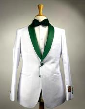 and Olive Green  Hunter  Emerald Tuxedo Suits