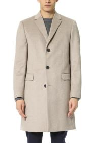 Cashmere Overcoat Tan