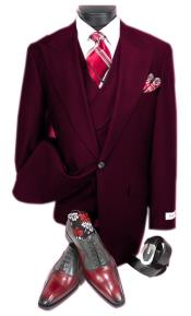Dark Burgundy Steve Harvery Style  Old Fashion - Traditional