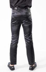 Mens Pants Chaps - Black