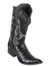 Caiman Black Boot