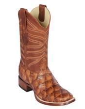 Botas De Pescado Los Altos Boots Pirarucu Cowboy Boots Chedron