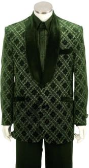 Big and Tall Tuxedo Jacket - Big and Tall Suit Olive
