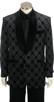 Big and Tall Tuxedo Jacket - Big and Tall Suit Black