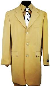 Taupe  One Chest Pocket 3 Button Suit