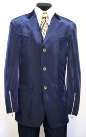 3 Button Two Flap Front Pockets Suit