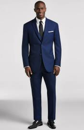 Electric Blue Imported Suit