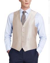 Suit Vest Beige (Shark Skin)