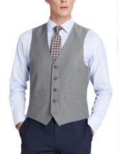 Mens-5-Button-Vest-Indigo-Blue