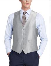 Suit Vest Grey (Shark Skin)