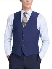 Suit Vest Royal Blue