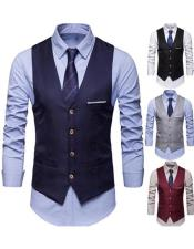 Mens Wine Color Walking Suit