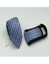 Checkered Double Layer Protective Face Mask And Matching Tie Set