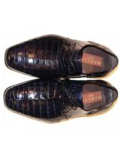 Mezlan Brand Mezlan Mens Dress Shoes Sale Mens Mezlan Navy Genuine Alligator