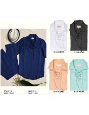 Mens Premium Linen Lace Front Shirts