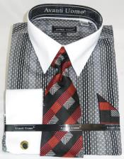 Mens Fashion Dress Shirts and Ties