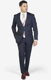 Royal Blue Stretch Armhole for comfort Slim Fit Suit