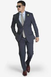 Mens Slim Fit Suit - Fitted