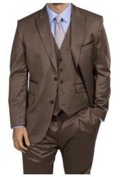 Suit - Vested fashion Suit- Wool Fabric Suit Mens Steve Harvey