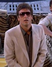 Tan  Scarface Suit