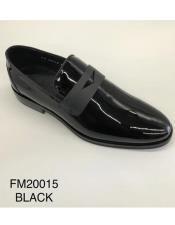 Tuxedo Shoes - Formal Shoes- Mens Wedding Shoe - Giovanni Testi 100%