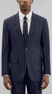 Pinstripe Suits - Pattern Suit