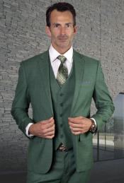 Emerald Green Suit - Forest Green Suit