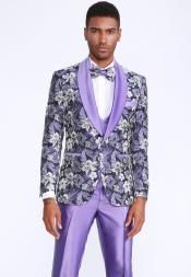 Lavender Tuxedo - Lilac Tuxedo  - Colored Tuxedo