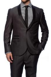 Charcoal Grey Tuxedo - Dark Grey Tuxedo