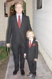 Matching Father and Son Suit