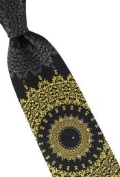 Style# Crystal Collection | Tie and Hanky Set + Gold