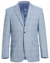 Renoir Tattaglia Classic Fit Suit Style# Plaid Suit - Checkered Suit -