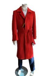 Mens Overcoat - Full Length Topcoat